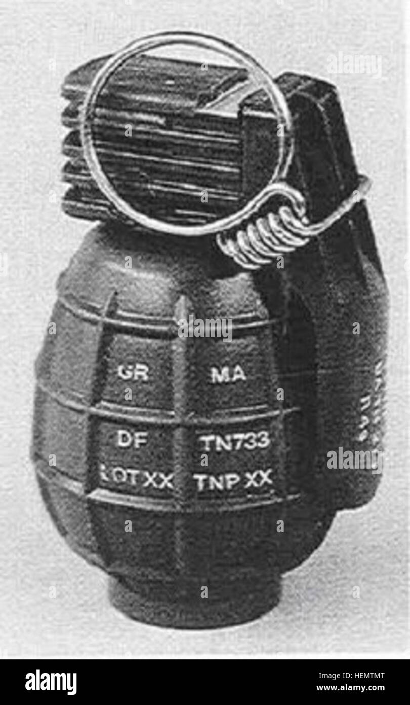 F1 Grenade Black and White Stock Photos & Images - Alamy