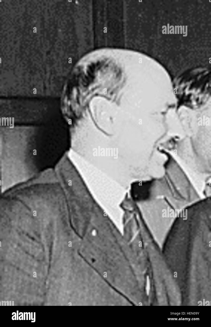 Clement Attlee Potsdam 1945 - Stock Image