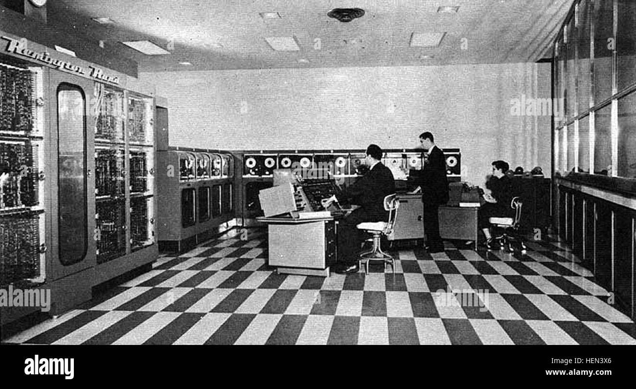 UNIVAC-I-BRL61-0977 - Stock Image