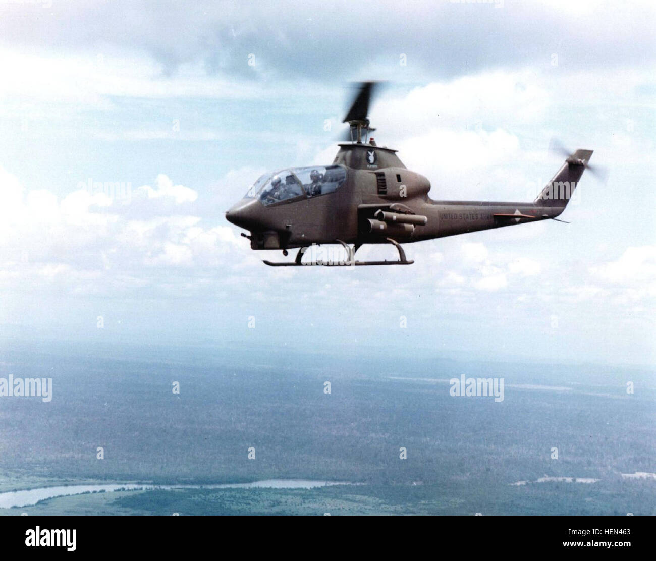 AH-1G Cobra Vietnam Stock Photo