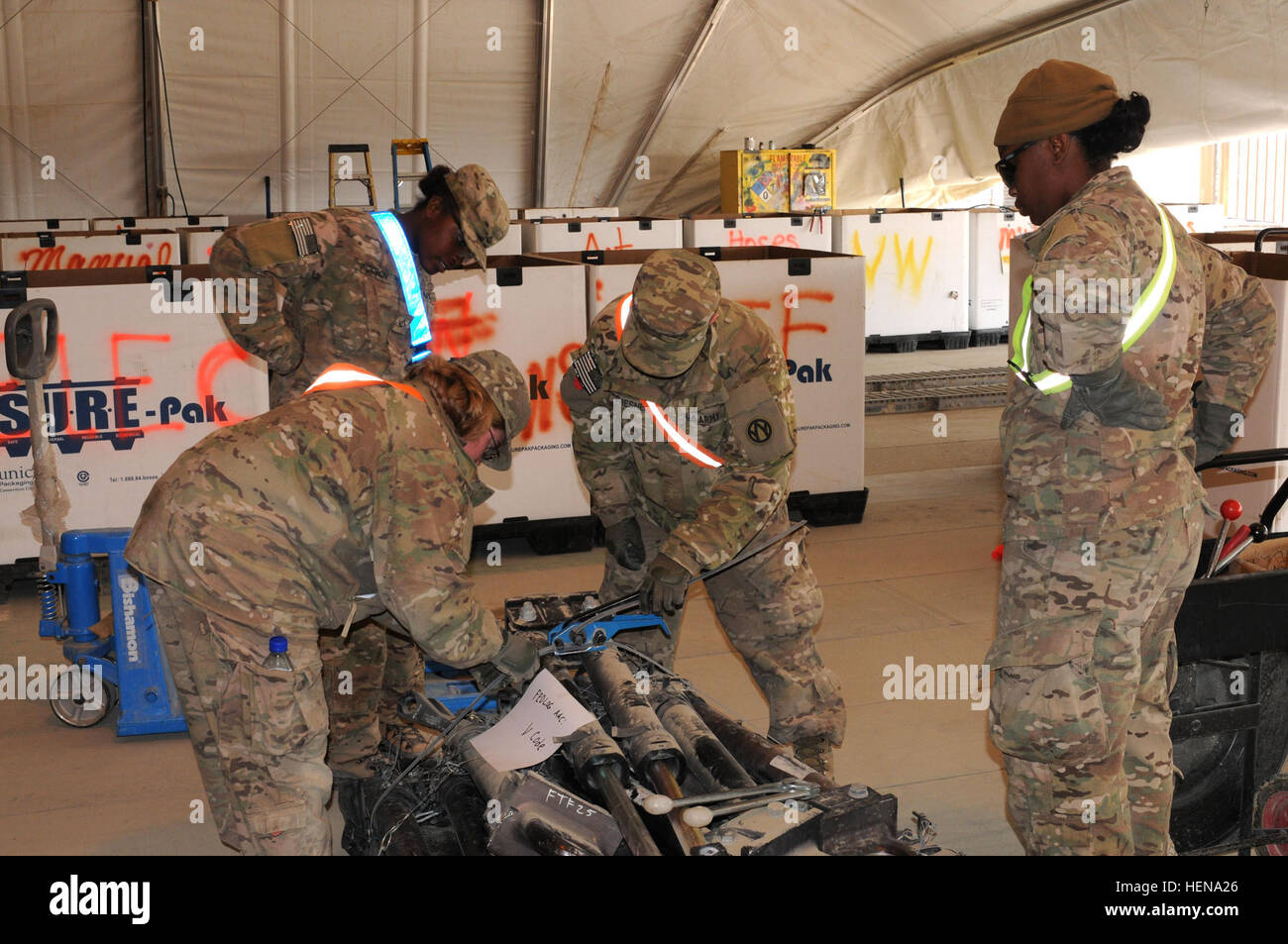 Centcom Materiel Recovery Element High Resolution Stock Photography And Images Alamy