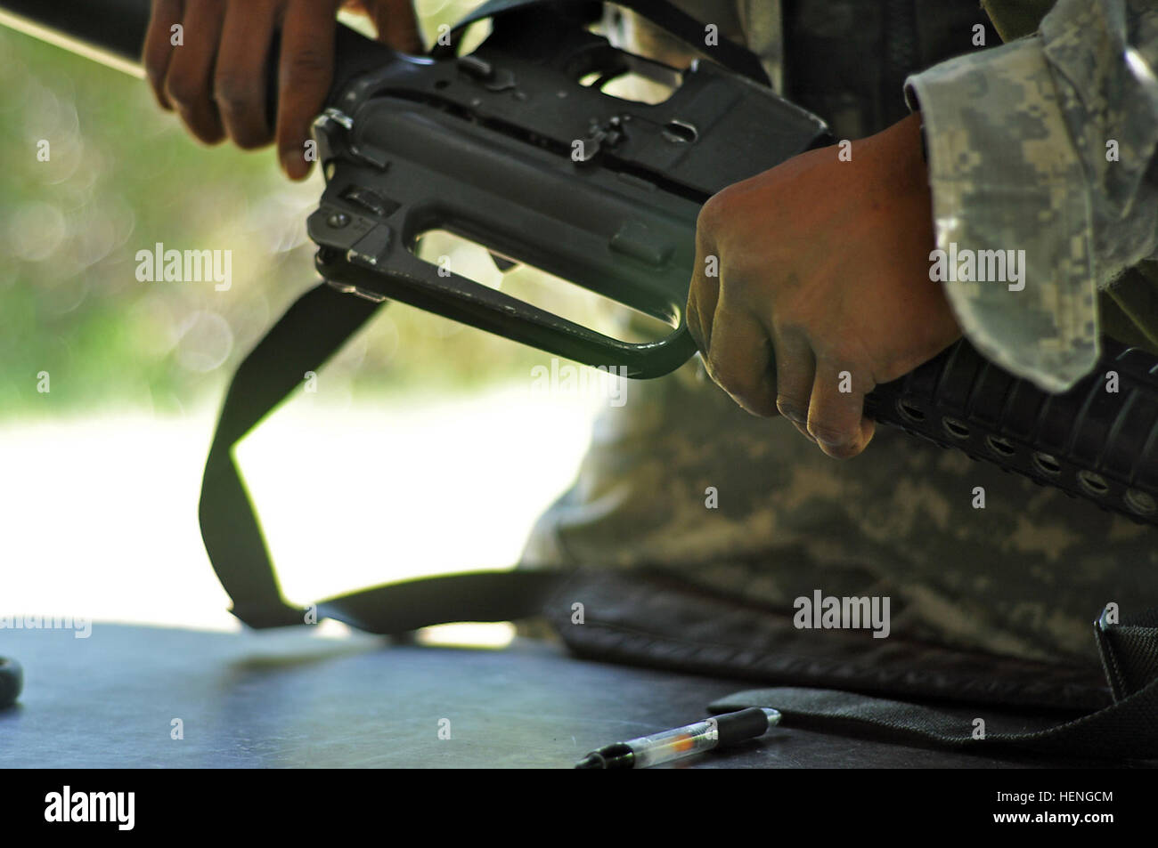 115th Brigade Support Battalion Stock Photos No Disassemble Stephanie Because To Be Disassembled Is Dead That One Of The Most Basic Tasks Any Soldier Disassembling Reassembling And Performing A Functions