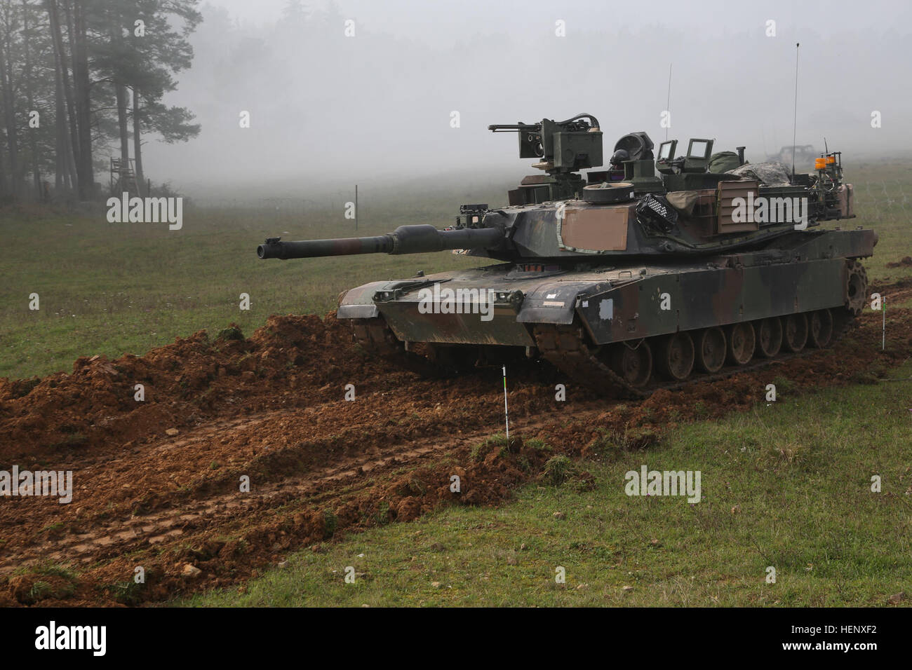 an u s army m1a2 abrams tank of 2nd battalion 12th cavalry stock
