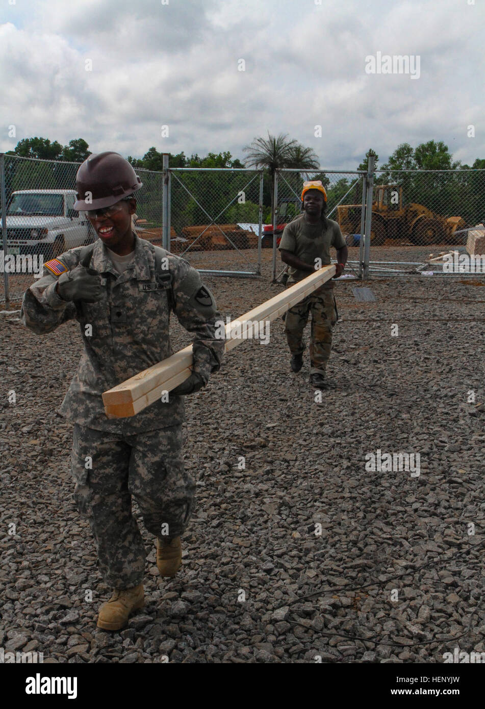 Company Butler spc. quondeshia butler, left, a soldier of the 104th