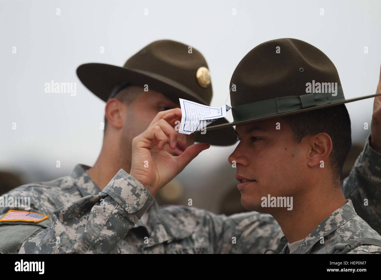 Army Drill Sergeant Stock Photos & Army Drill Sergeant Stock Images - Alamy