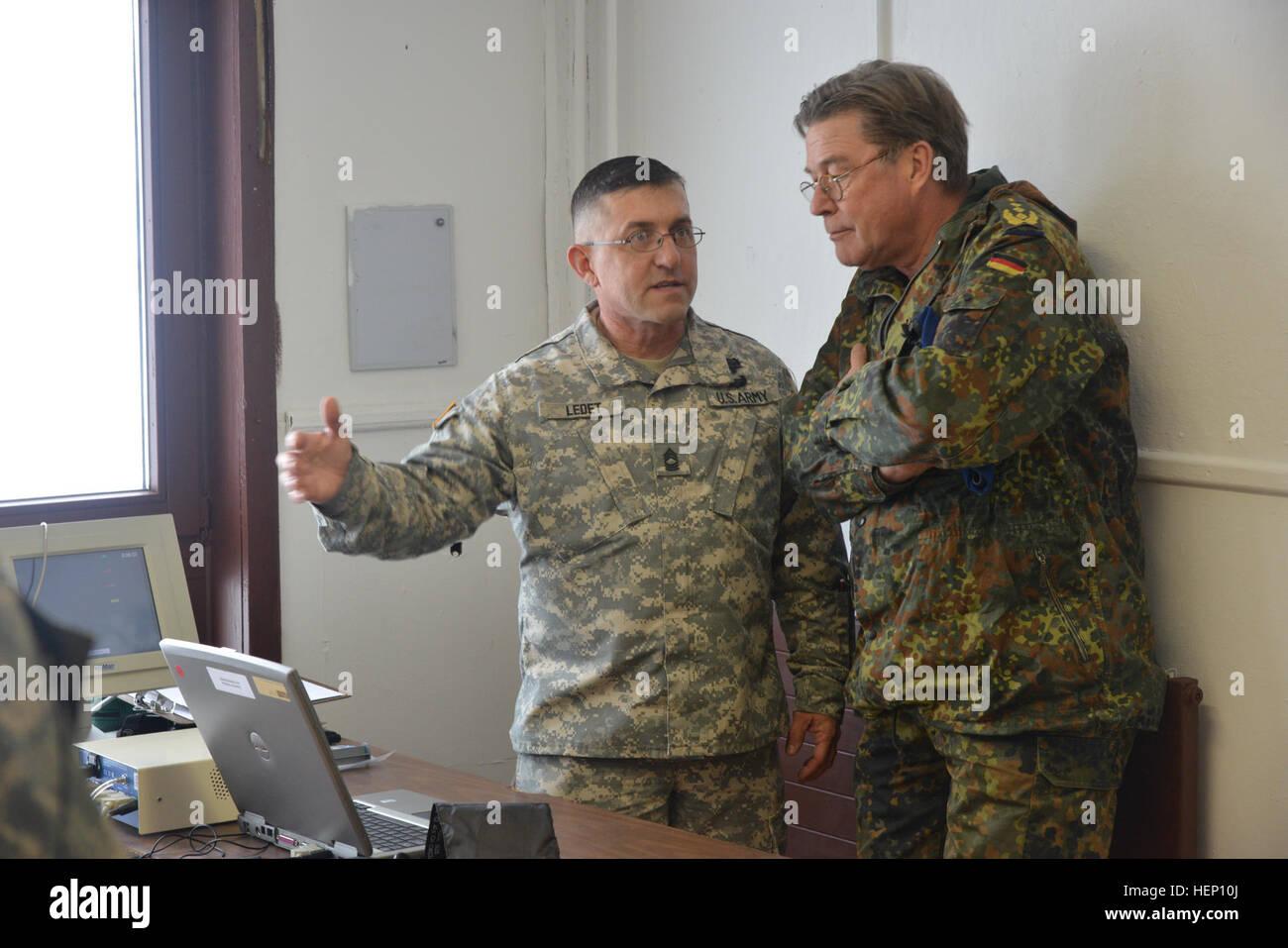 Generaloberstabsarzt Dr Med Ingo Patschke The German Army Surgeon Stock Photo Alamy