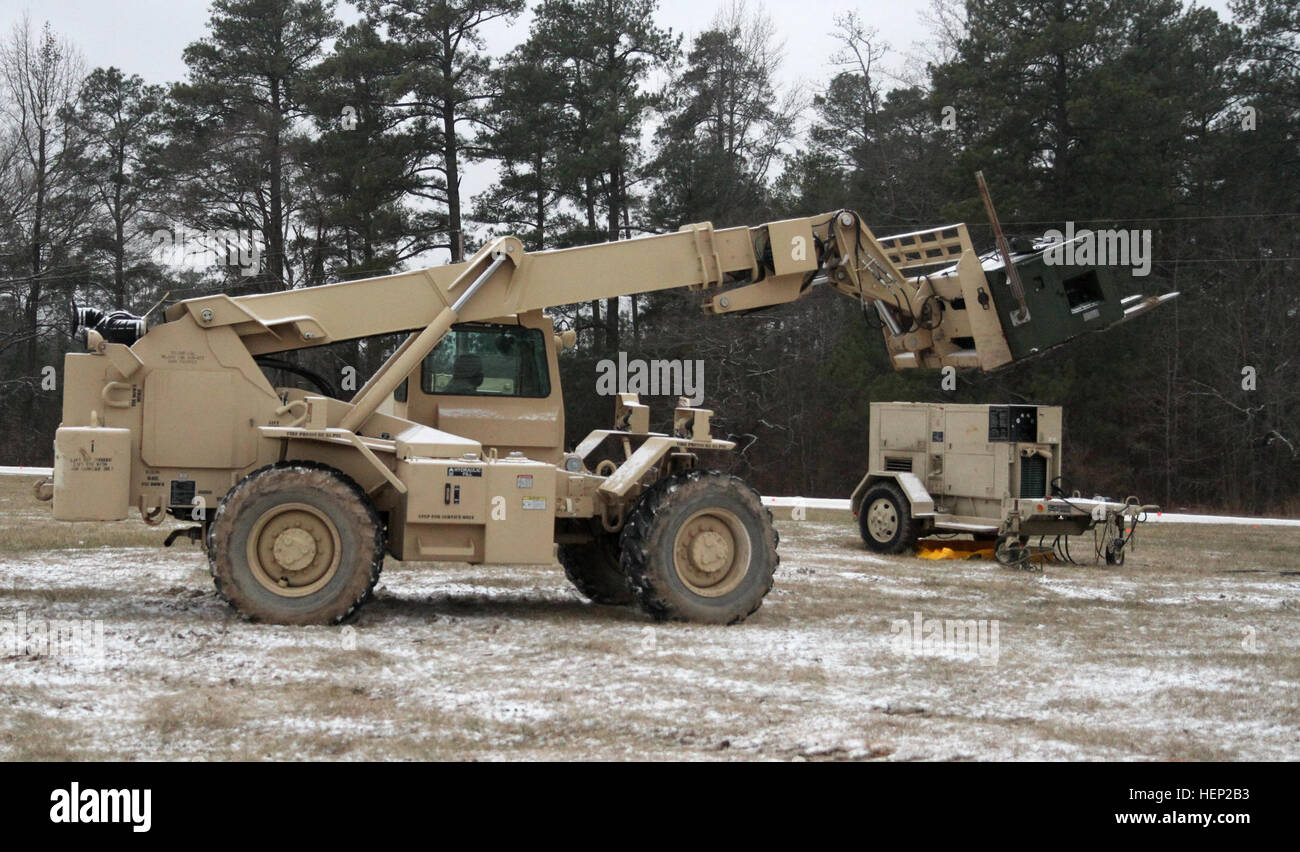 Smith Heater Stock Photos Images Alamy Land Rover S Wiring Diagram Spc Jamar Of The 75th Combat Support Hospital Drives A Forklift To Reposition