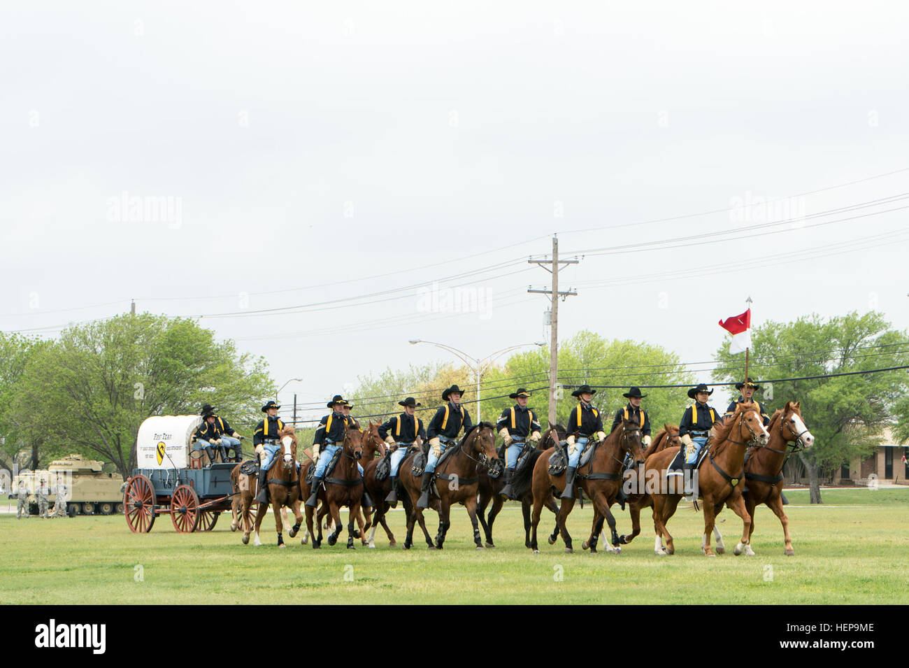 u s army 1st cavalry division horse cavalry detachment marches