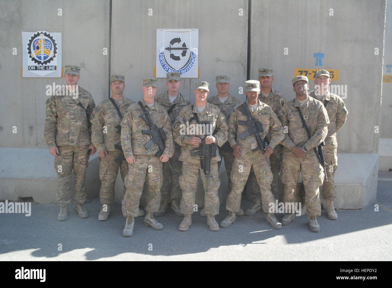 Soldiers From 802nd Ordnance Company A U S Army Reserve Unit From Stock Photo Alamy