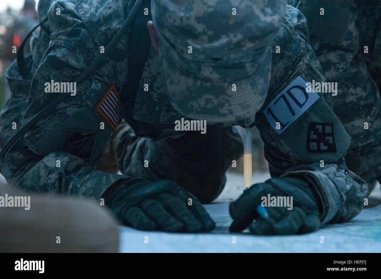 U S Army Reserve Spc Joshua Miller Combat Engineer 680th Engineer Stock Photo Alamy
