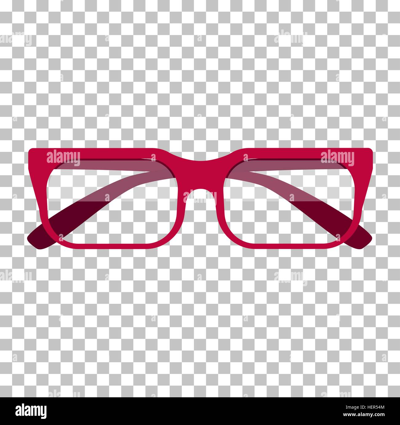 Classic glasses icon. Glasses isolated. Glasses model icons, man ...