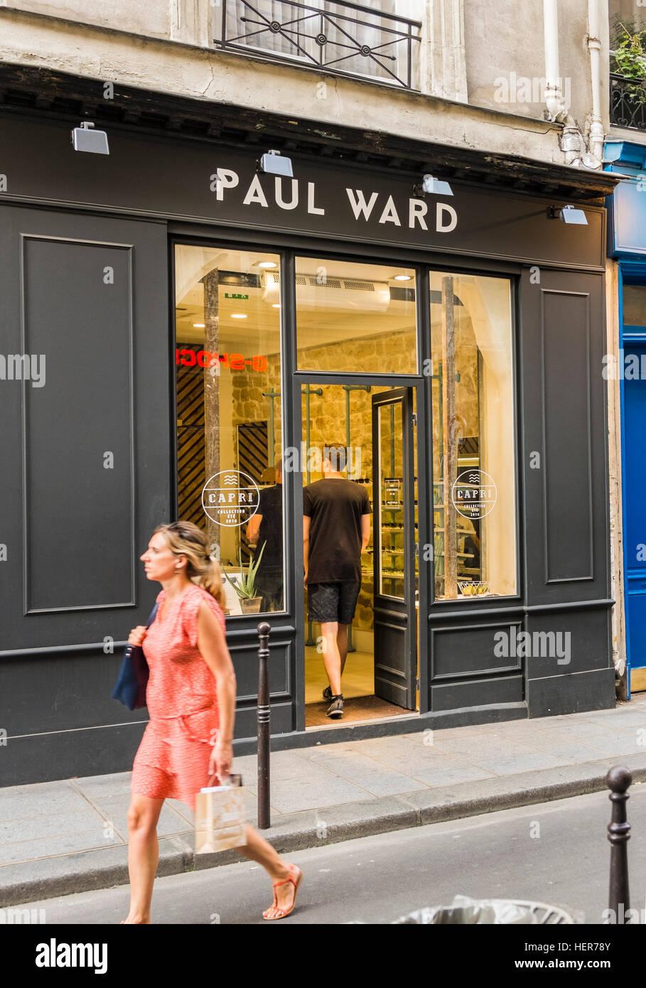 paul ward eyewear store - Stock Image