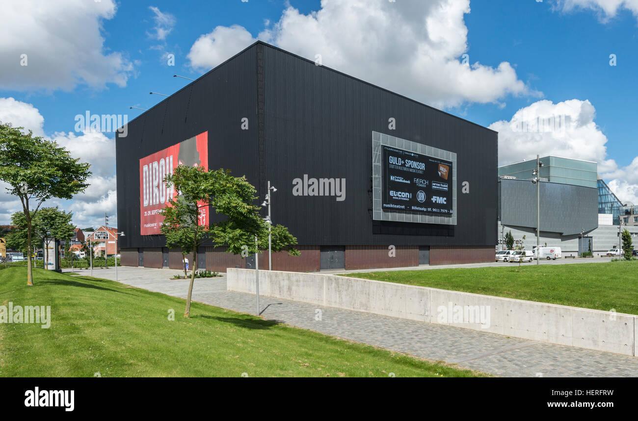 Black Box Theatre, Holstebro, Midtjylland, Denmark - Stock Image