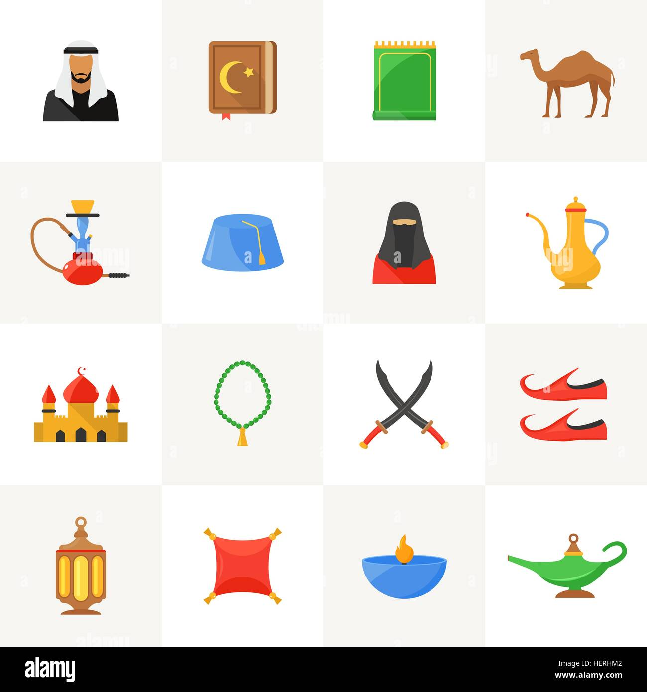 Islamic Symbols Stock Vector Images Alamy