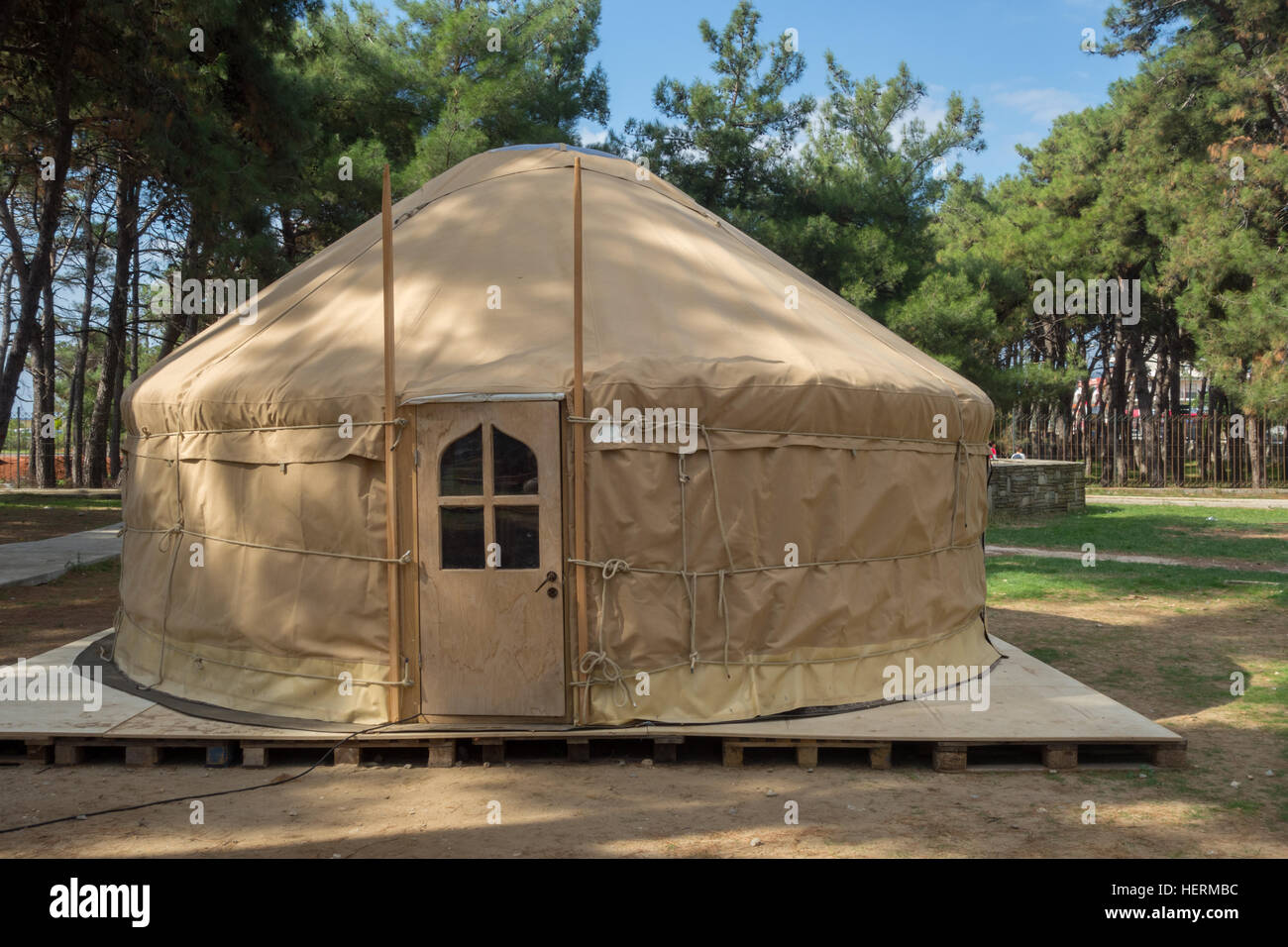 Yurt A Mongolian Ger Portable Bent Dwelling Structure Stock Photo Alamy Each plays a vital role in the structure. https www alamy com stock photo yurt a mongolian ger portable bent dwelling structure traditionally 129598656 html