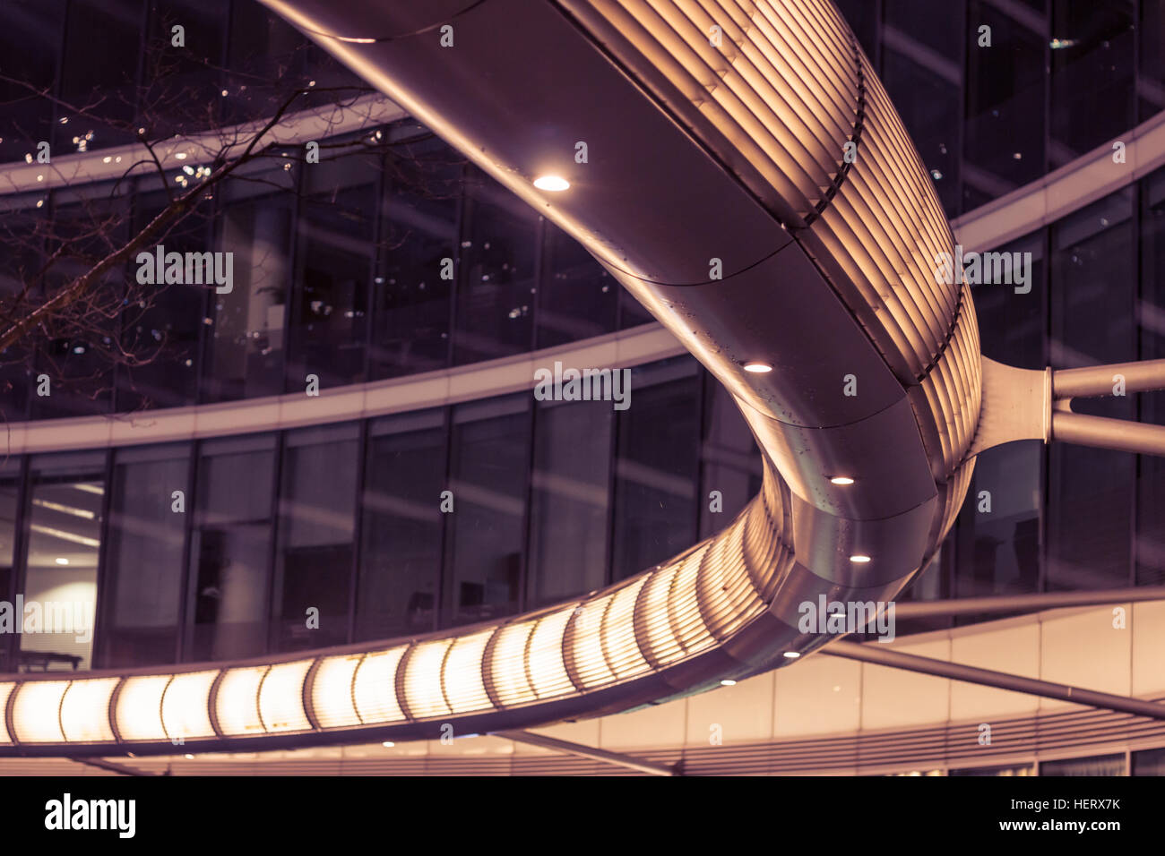 Modern business office building architecture. - Stock Image