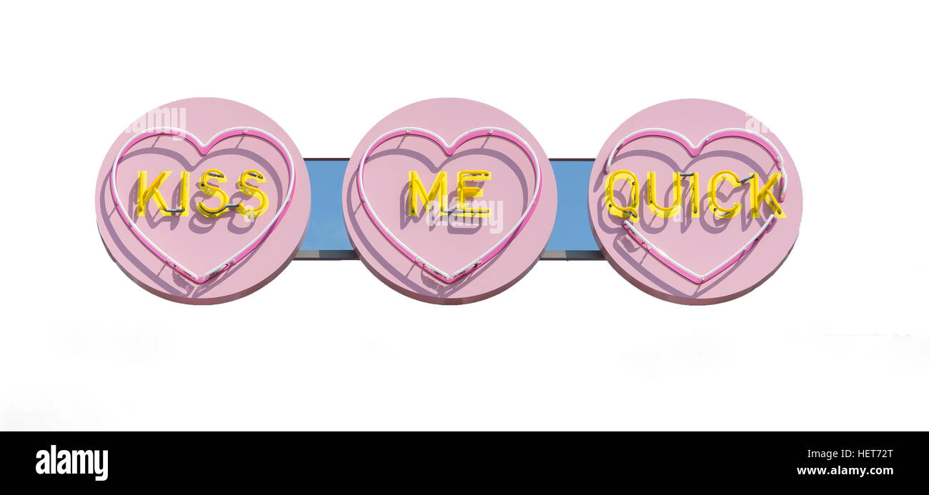 'Kiss me quick' ride at Dreamland Margate amusement park, Marine Terrace, Margate, Kent, England, United - Stock Image