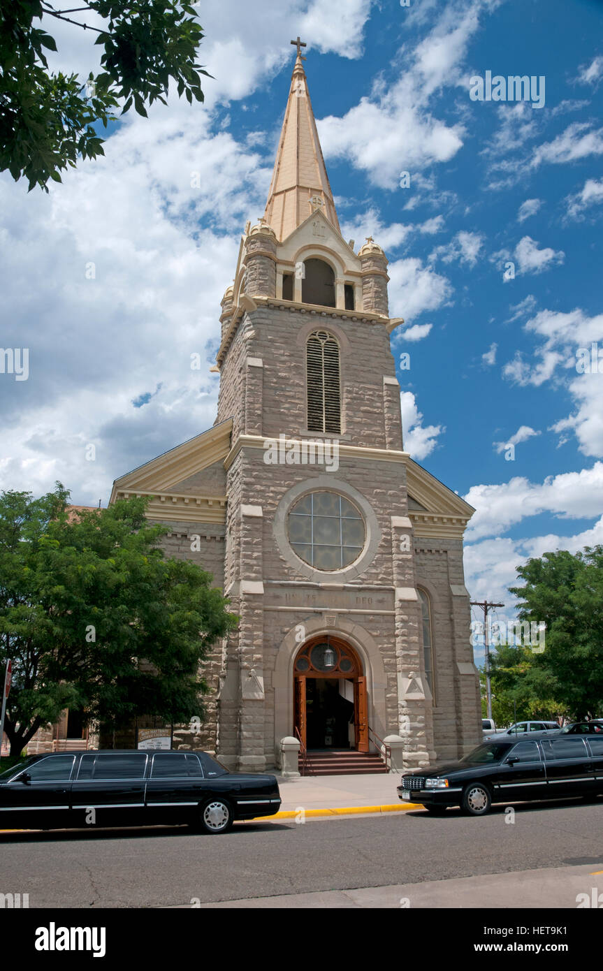 Most Holy Trinity Catholic Church - Stock Image