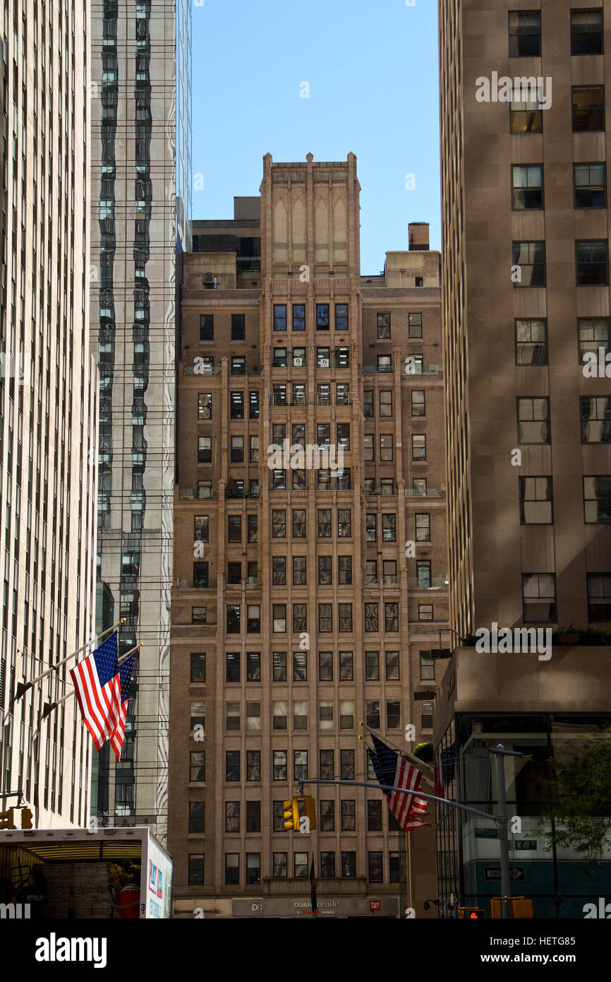 Manhattan Buildings - Stock Image