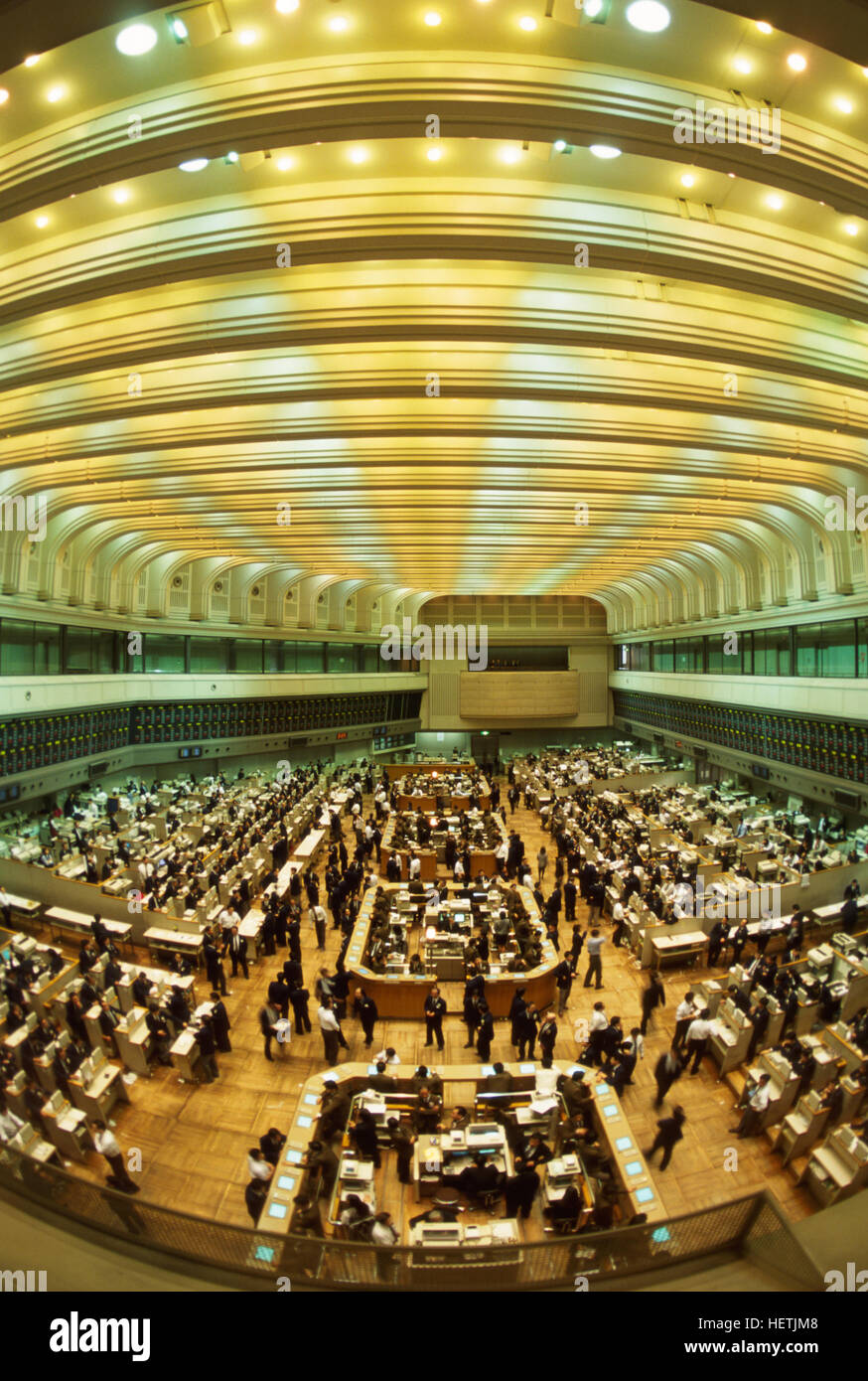 Trading system of tokyo stock exchange