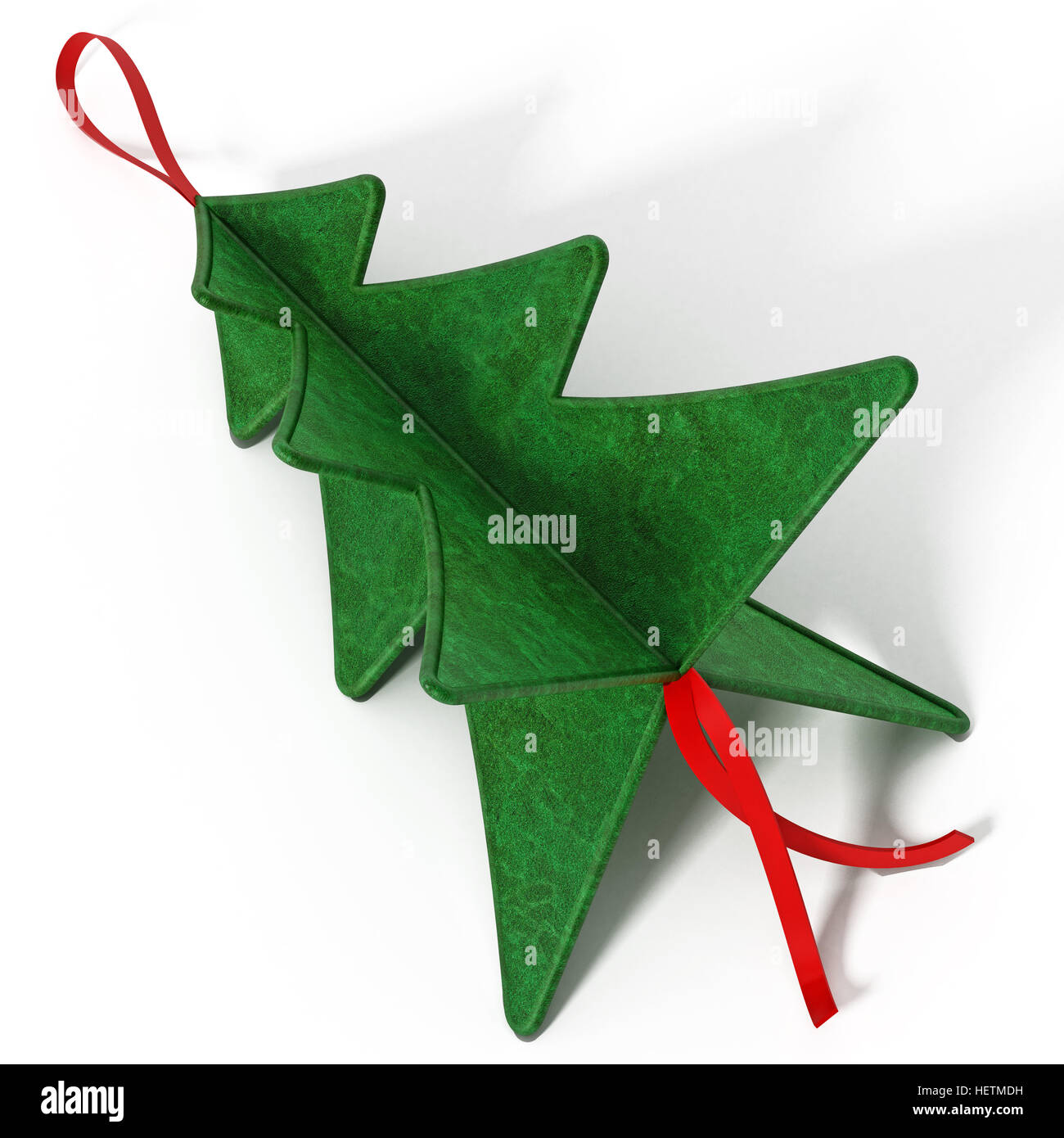 Real Christmas Tree Cut Out Stock Images Pictures Alamy Origami Ornaments On A Star Diagram Pine Isolated White Background 3d Illustration Image
