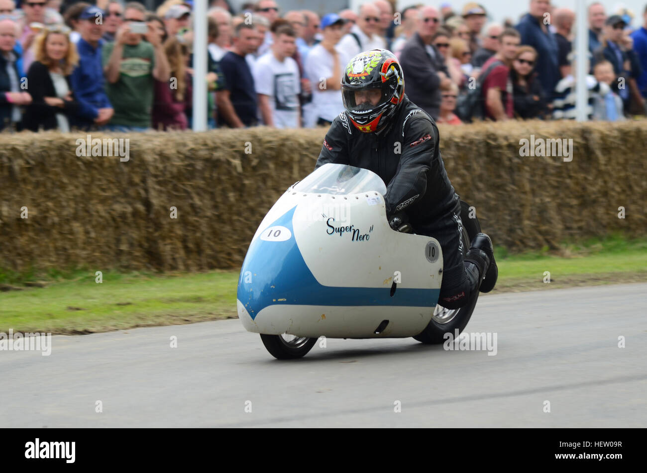 1963 Vincent Super Nero 1000cc Supercharged Sprint Machine At The 2016  Goodwood Festival Of Speed