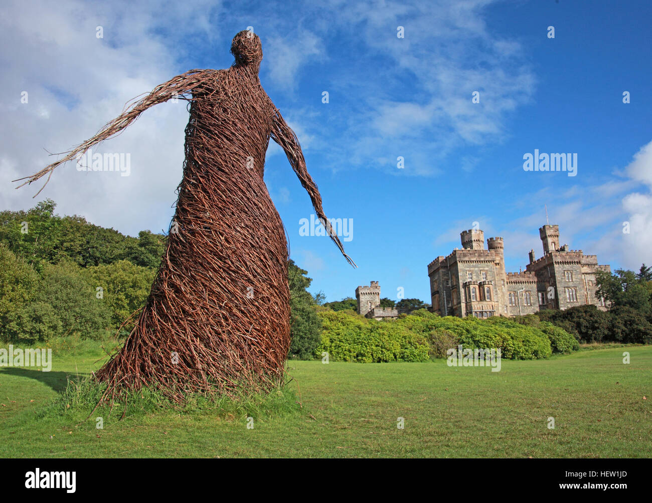 Stornoway Isle Of Lewis - Wicker Woman,Scotland,UK - Stock Image