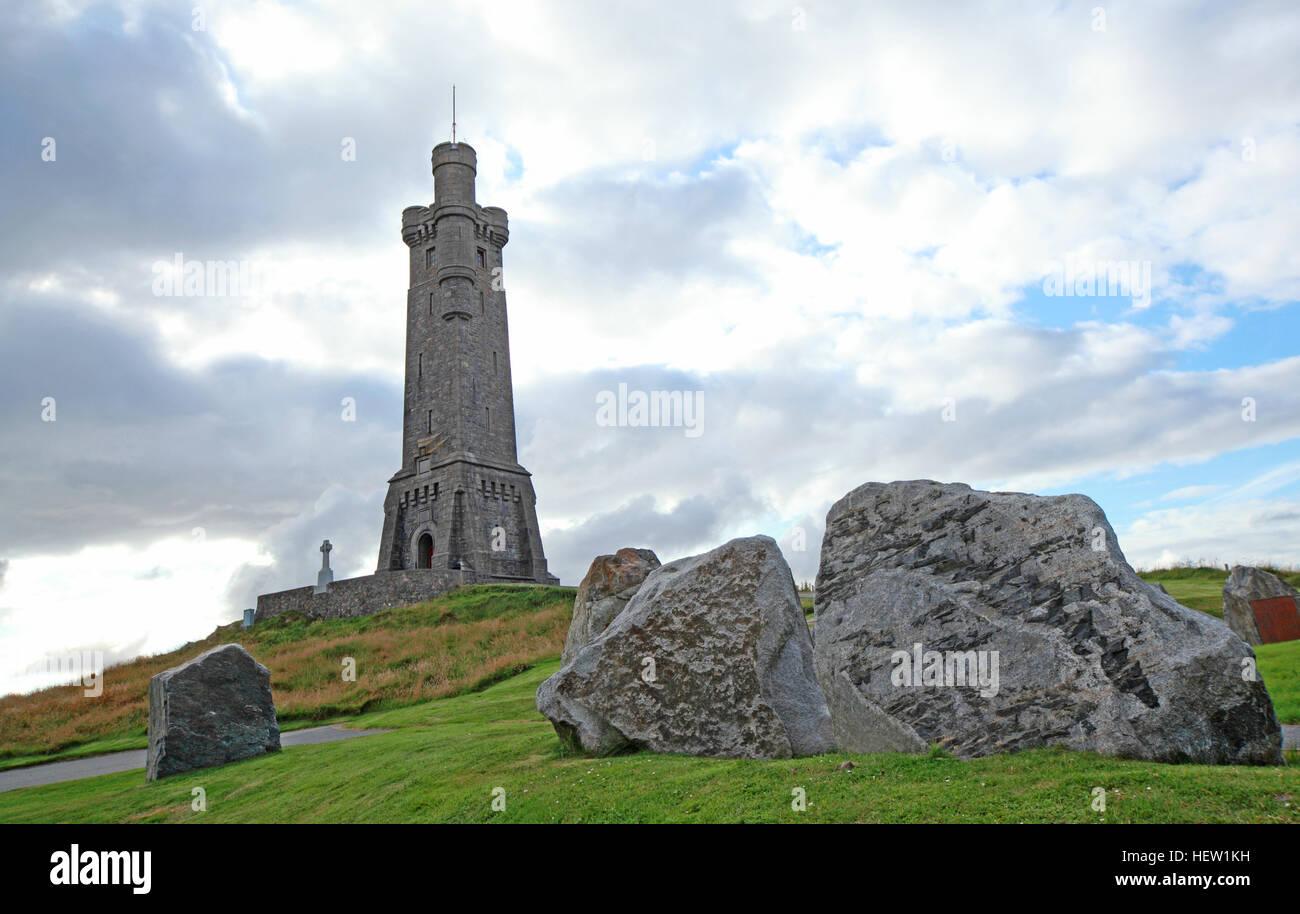 Stornoway Isle Of Lewis,war memorial,Scotland,UK - Stock Image