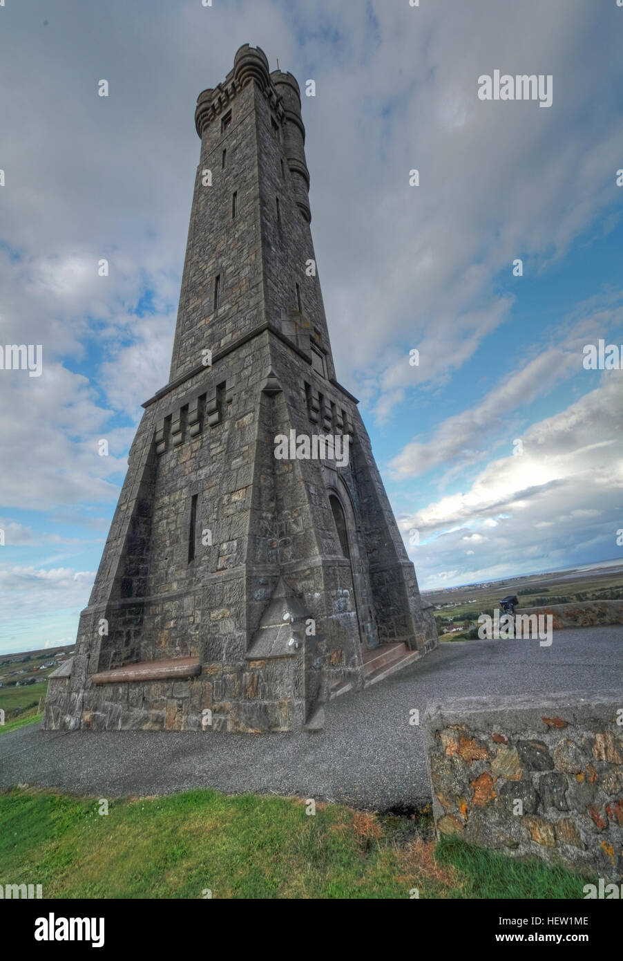 Stornoway Isle Of Lewis war Memorial, Scotland,UK - Stock Image