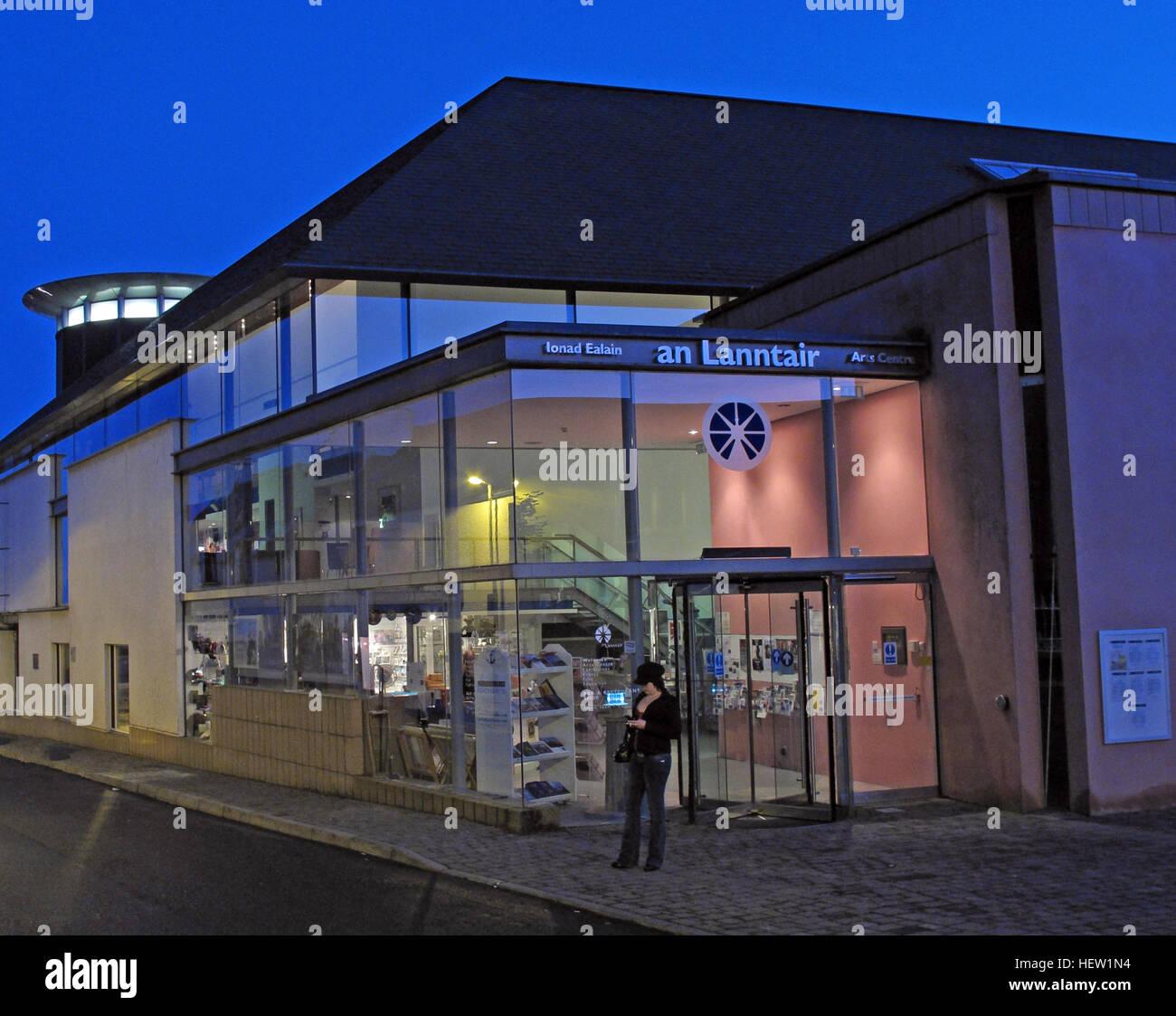 Stornoway Isle Of Lewis, An Lanntair Arts Centre,Scotland, UK - Stock Image