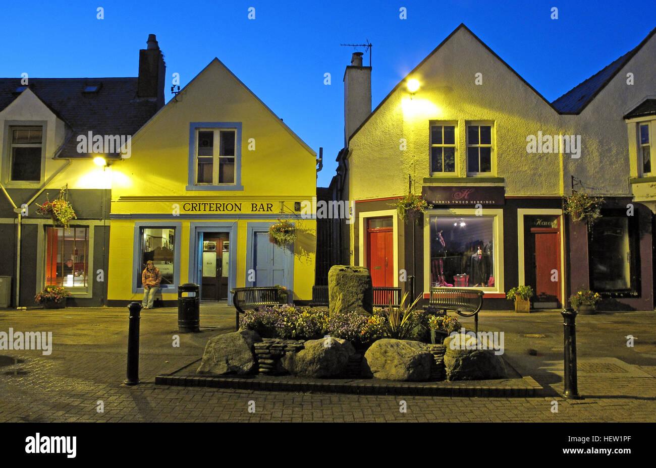 Stornoway Isle Of Lewis,Point St, Scotland, Uk - Stock Image