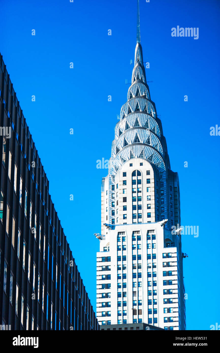 Chrysler Building, New York City, New York, USA - Stock Image