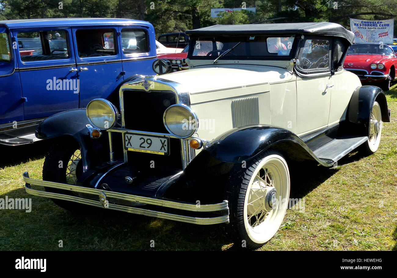 The 1929 Chevrolet International AC Coupe was the first six-cylinder ...
