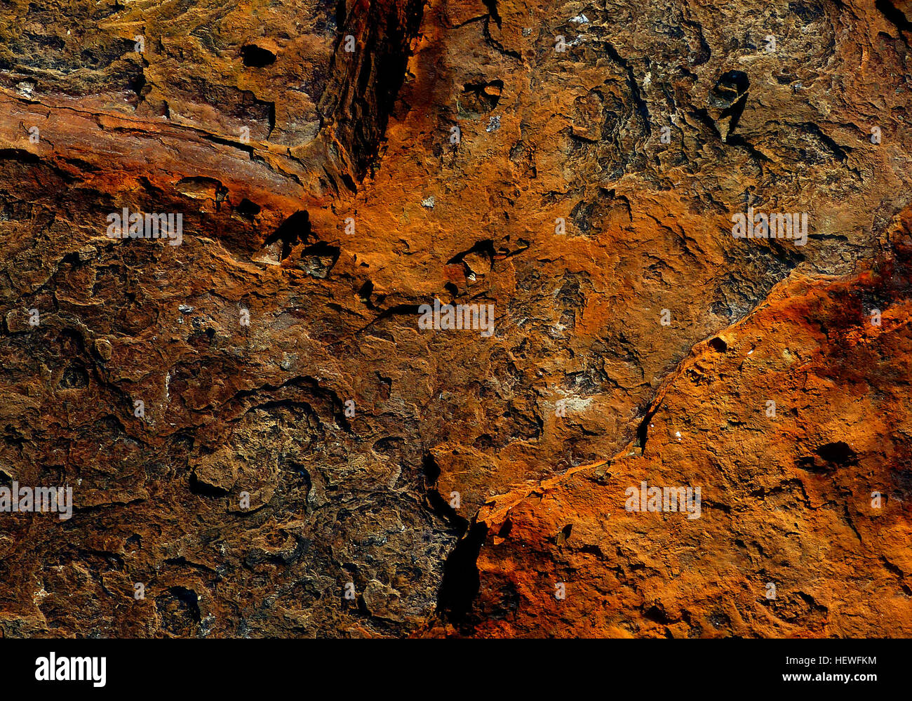 Rust is an iron oxide, usually red oxide formed by the redox