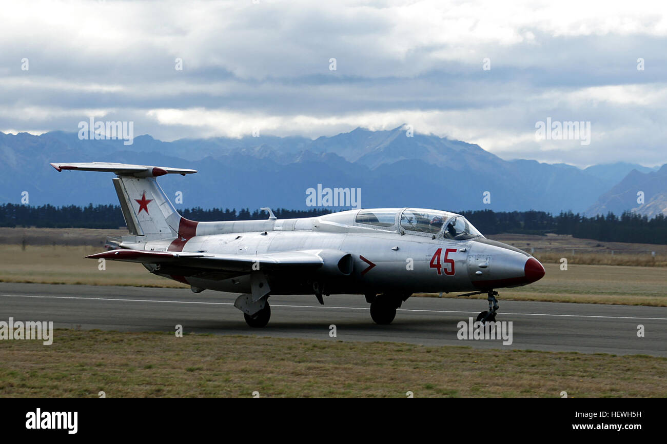 In the late 1950s, the Soviet Air Force was seeking a jet-powered replacement for its fleet of piston-engined trainers, - Stock Image