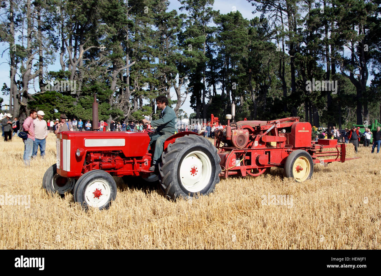 New Holland is a global brand of agricultural machinery