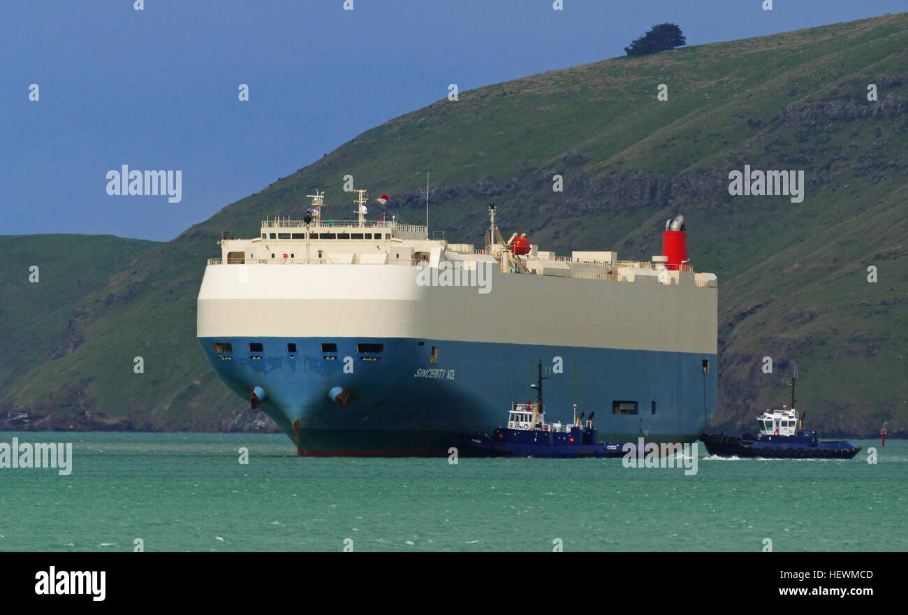 MO: 9519092 MMSI: 351690000 Call Sign: 3FFD7 Flag: Panama [PA] AIS Vessel Type: Cargo Gross Tonnage: 59408 Deadweight: - Stock Image
