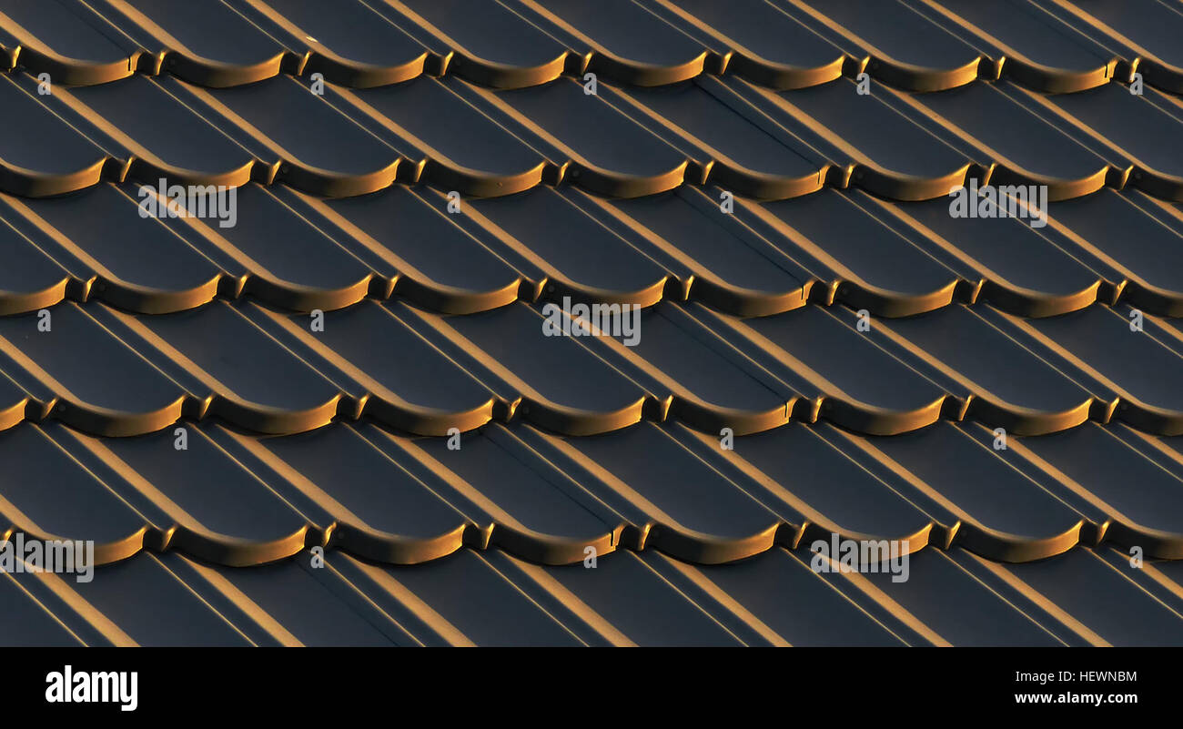 ication (,),Explored,Panasonic DMC-FZ200,Roof',patterns,sunset - Stock Image