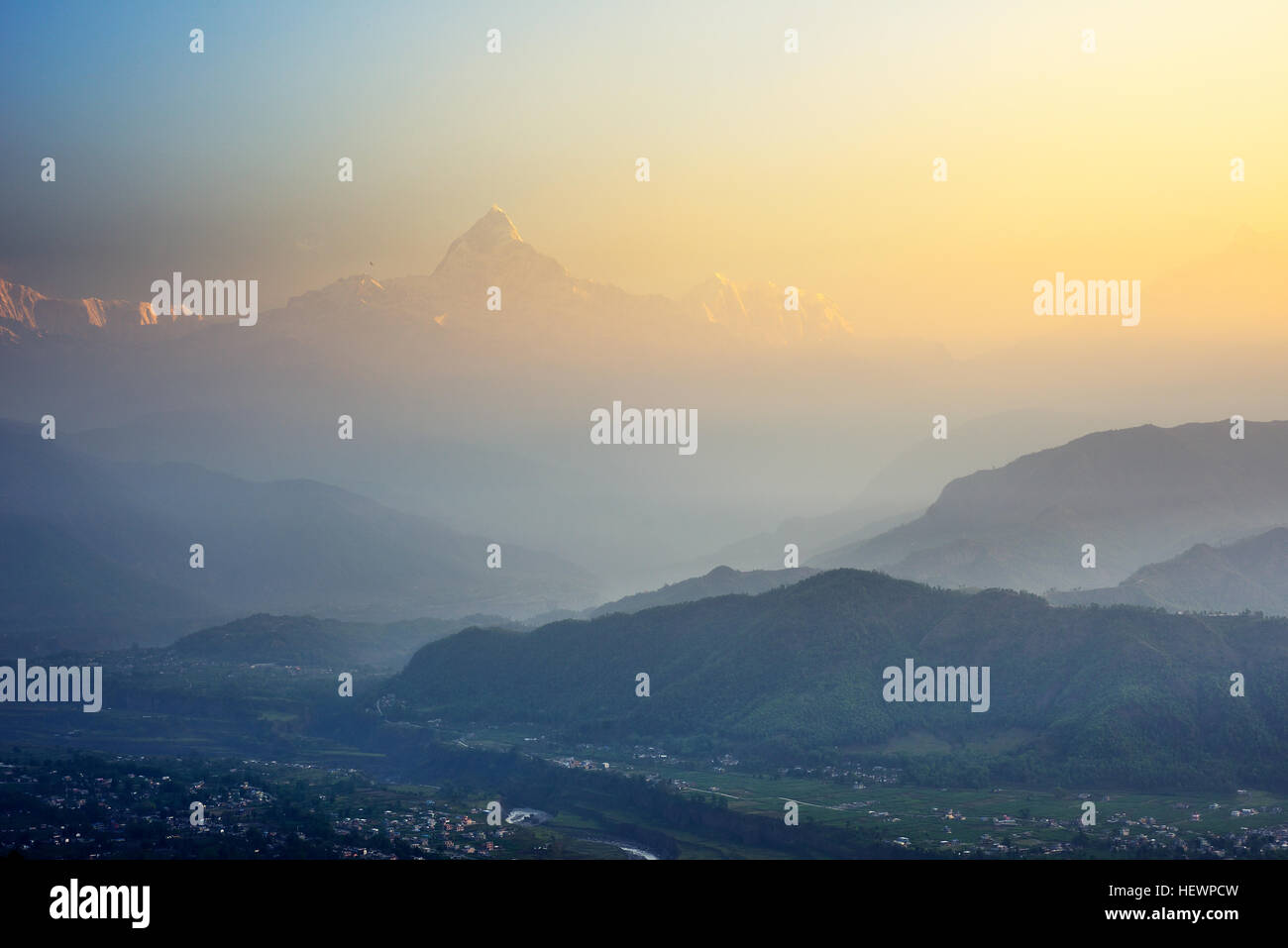 Pokhara, Nepal - Stock Image