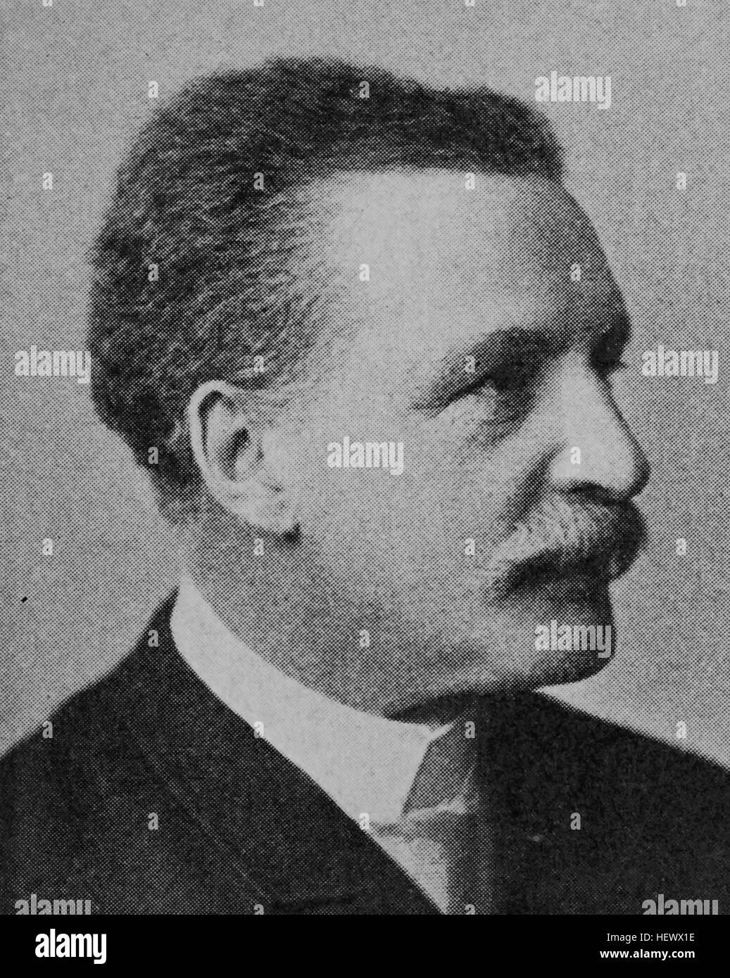 Georg von Metzsch, Metzsch-Reichenbach, Graf von Metzsch-Reichenbach, 1836 - 1927, Karl Georg Levin von Metzsch - Stock Image