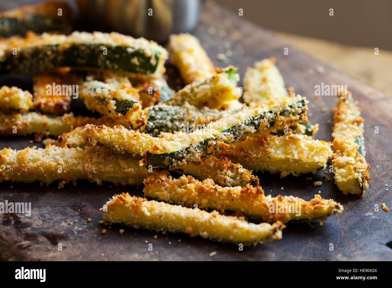 Zucchini fires - Stock Image