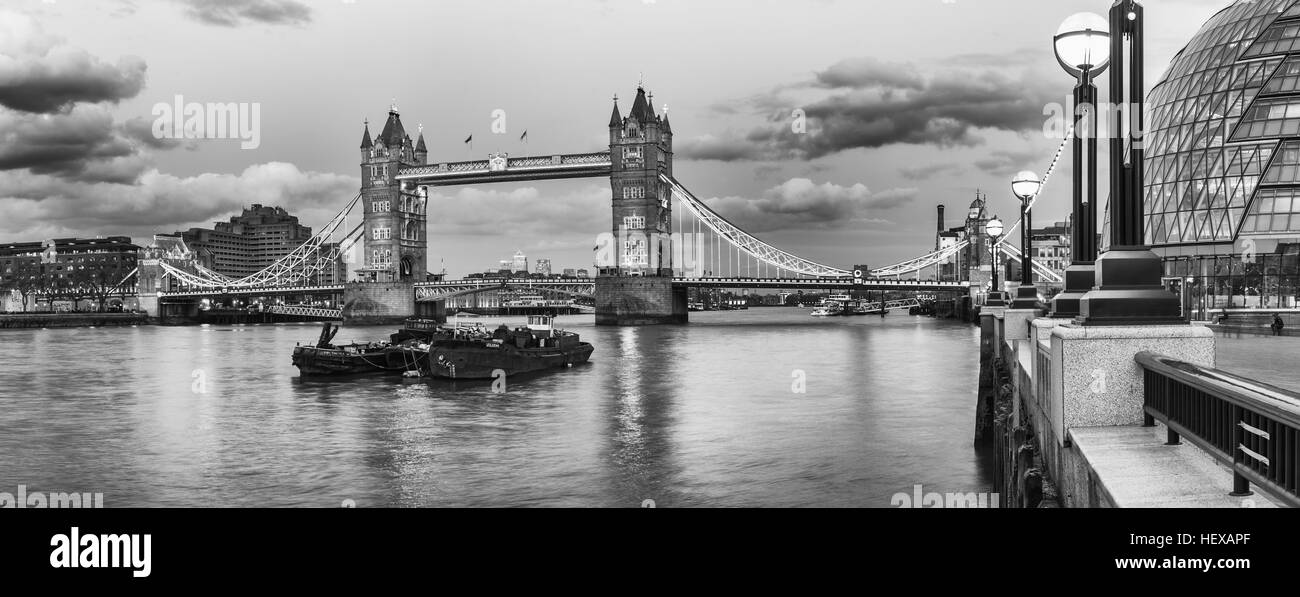 Tower Bridge, London, - Stock Image