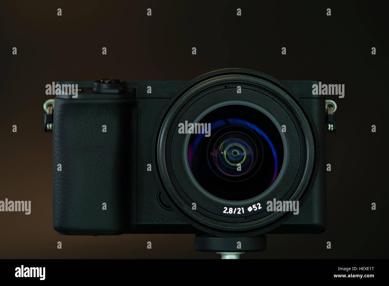 Digital camera. - Stock Image