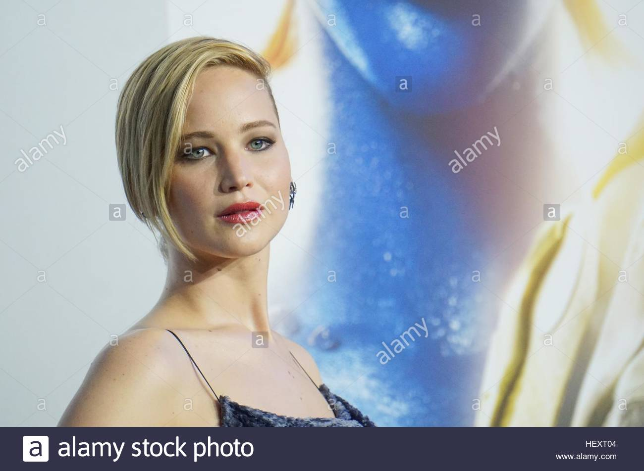 Jennifer Lawrence attends the 'The Hunger Games: Mockingjay Part 1' party at the 67th Annual Cannes Film - Stock Image