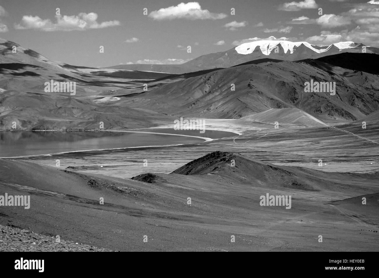 Duruu Lake, Altai Mountains, Bayan-Ulgii, Mongolia - Stock Image