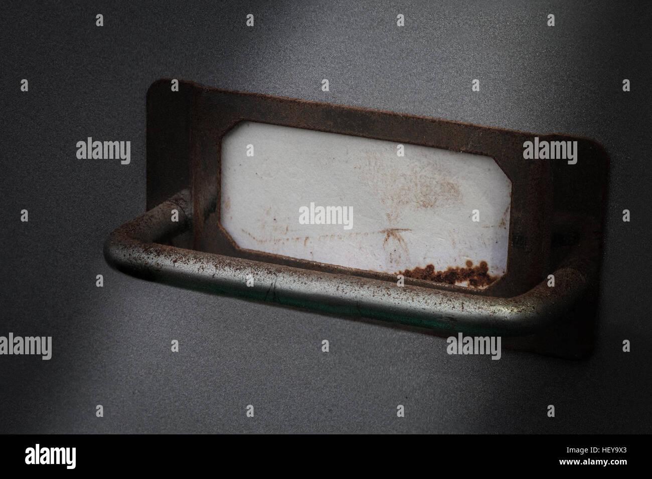 Label Blank Metal Stock Photos & Label Blank Metal Stock Images - Alamy