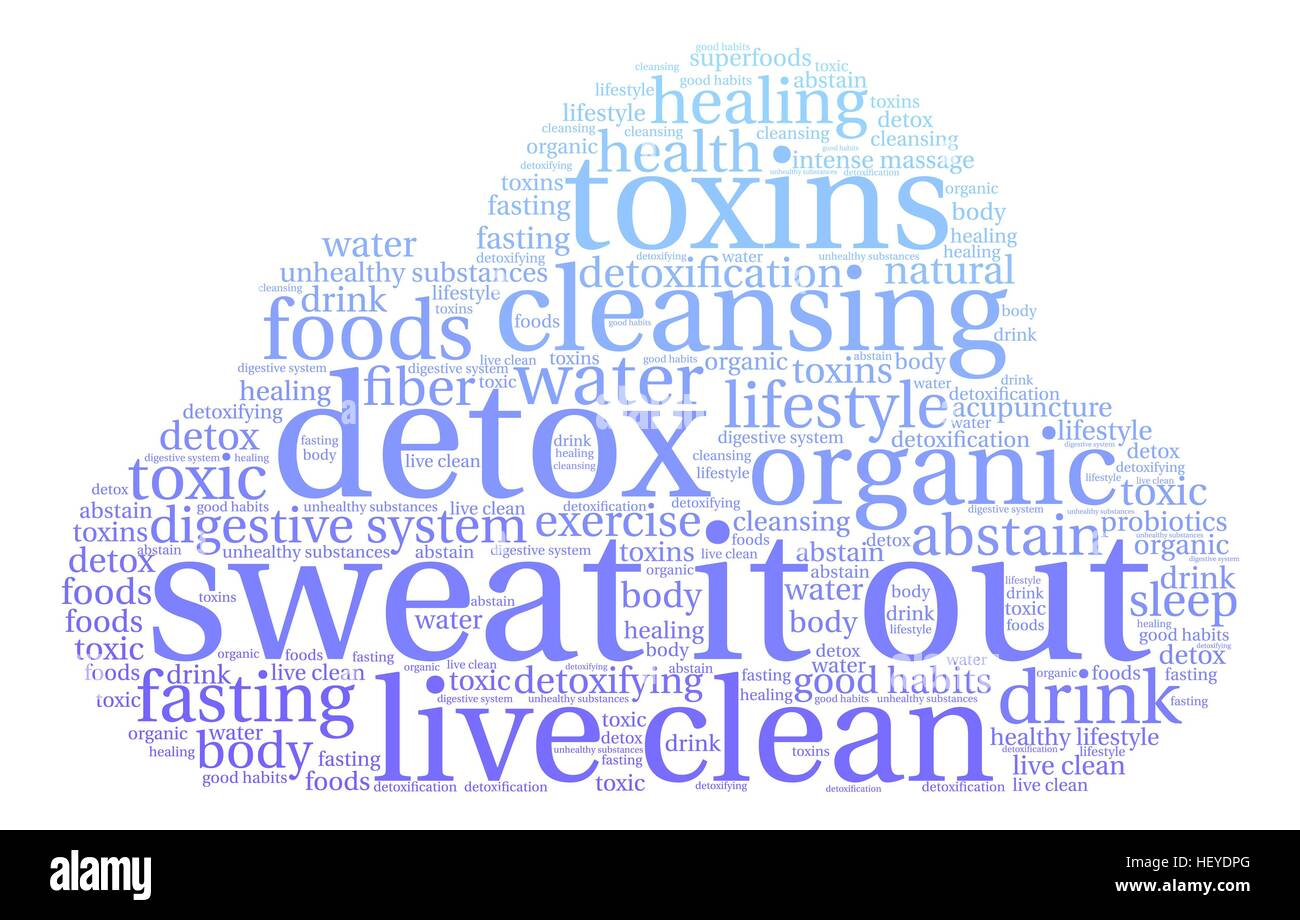 Sweat It Out word cloud on a white background. - Stock Vector