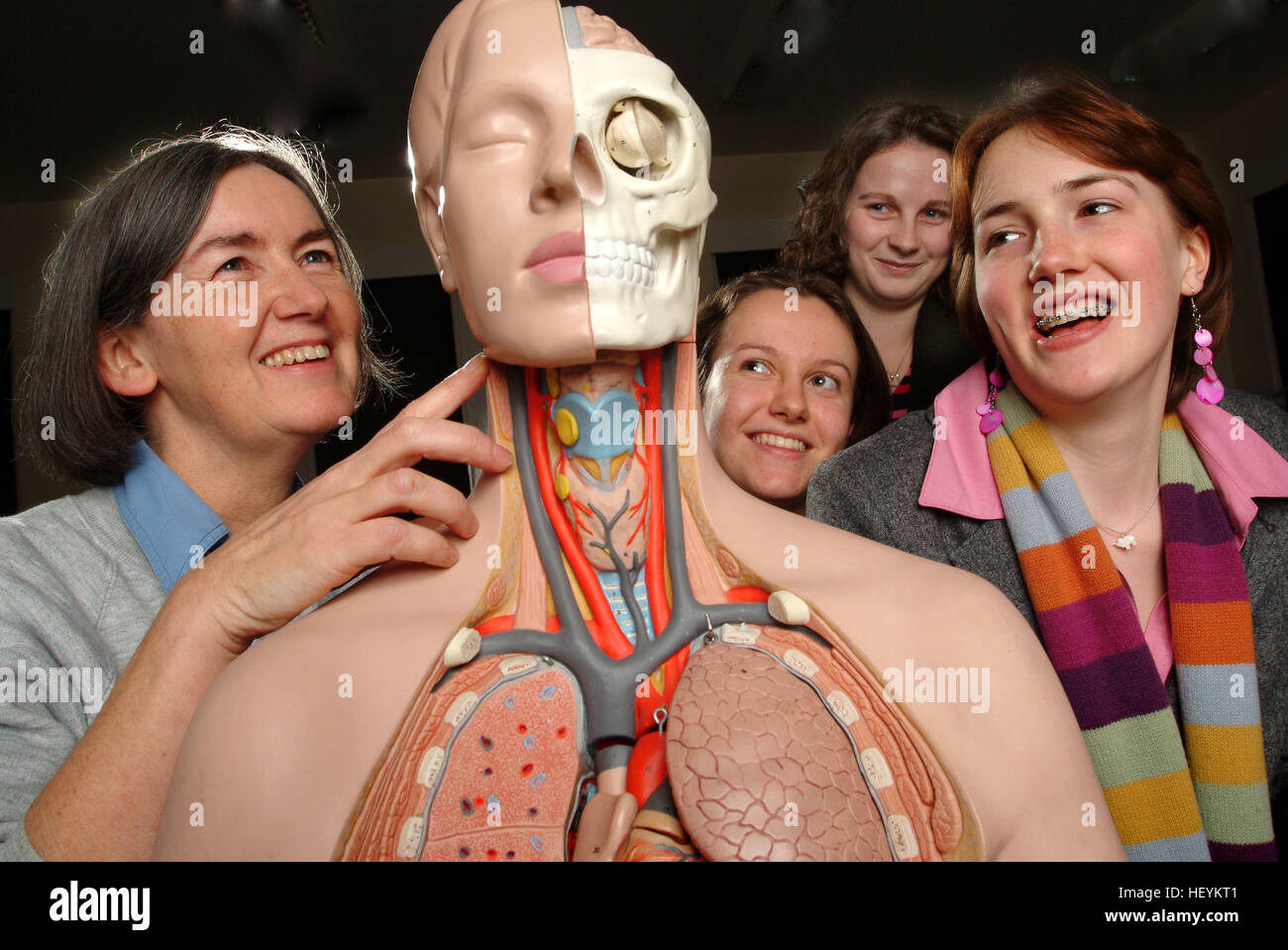 Anatomy Lesson Medical Students Stock Photos & Anatomy Lesson ...