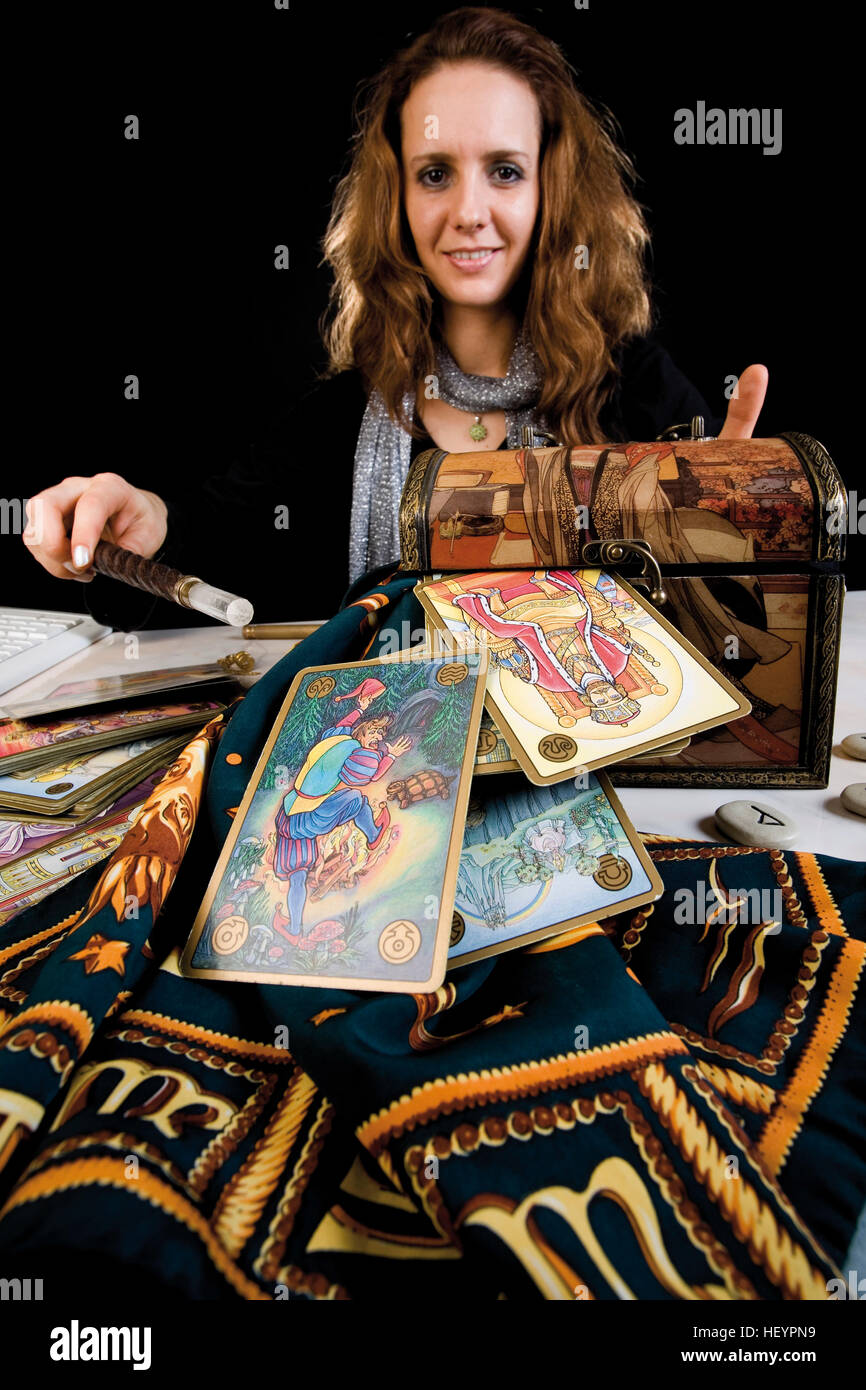 Fortune Teller Fair Stock Photos & Fortune Teller Fair