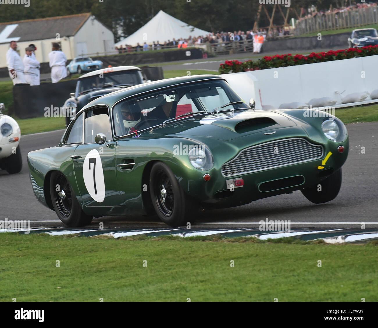 Urs Muller Arlette Muller Aston Martin Db4 Gt Kinrara Trophy Stock Photo Alamy